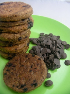 Carob Crunch Dog Cookies