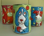 Basset Hound Coffee Mug by Barbara Donovan