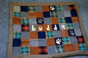 Wool Patchwork Custom Blanket by NorthernLodge