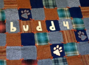 Custom Pet Blanket With Upcycled Wool