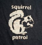 Squirrel Patrol Dog Towel
