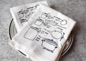 Tea Towel set by GirlsCanTell