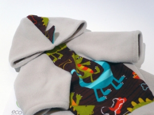 RAWR Hoodie by EcoPup Dog Clothing