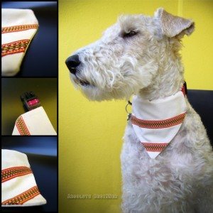 Ethno Style Dog Scarf/Bandana by AbsoluteBegiNNer